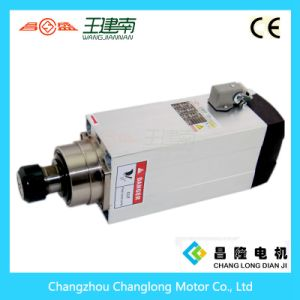 6kw High Speed Air Cooling Asynchronous Spindle Motor for Engraving Machine pictures & photos