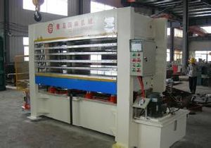Plywood Hot Press Machine Batch Production pictures & photos