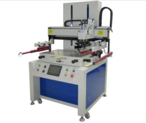 SX-6090V Semi Auto Electric Flat Screen Printing Machine with Vacuum pictures & photos