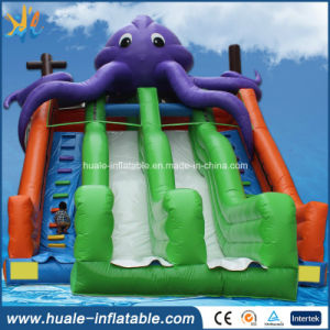 Children Summer Water Game! Inflatable Water Slide for Kids