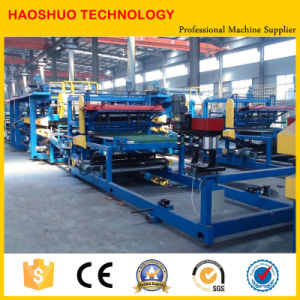 High Output Continuous PU Sandwich Panel Production Line, Making Machine pictures & photos