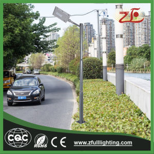 Tensile Aluminum 30W All in One LED Solar Street Light pictures & photos