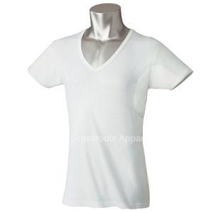 Undershirt Anti-Sweat Slim Fit V Neck Mens T-Shirts pictures & photos
