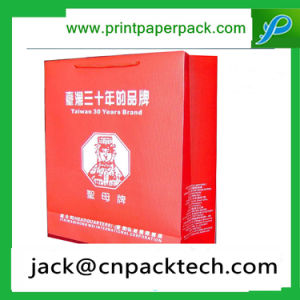 Luxury Customized Printing Waterproof Kraft Paper Bag with Logo pictures & photos