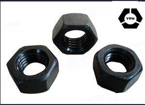 Black Carbon Steel ASTM A563 Nut pictures & photos