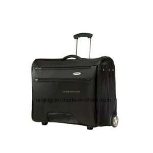 Black Wheeled Garment Luggage Bag pictures & photos