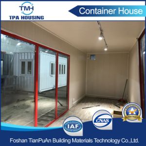 40FT Glass Wall High Quality Modified Container House for Sale pictures & photos