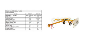 9L Big Hay Rake with Finger Plate Type pictures & photos