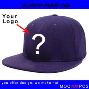 Custom Snapback Flex Fit Hats pictures & photos