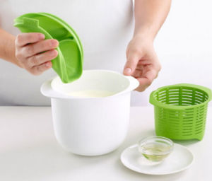 Food Grade Plastic Material Home-Made Fresh Cheese Maker Bowl