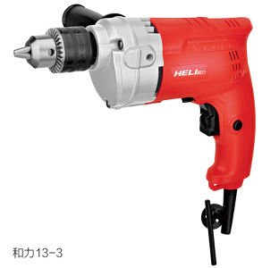 13mm 500W Classic Model Variable Speed Electric Drill with Two Stage Reduction Gear (HELI 13-3) pictures & photos