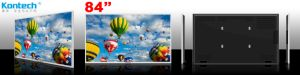 85-Inch Professional Uhd 4k LCD Monitor, 3840X2160p, VGA/HDMI in, Wall Mount pictures & photos