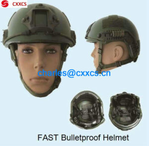 (FAST) Reliable Bulletproof, Ballistic Helmet (NIJ IIIA) pictures & photos