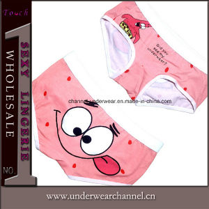 Wholesale Sexy Ladies Underwear Cotton Cartoon Printed Brief Panty (TBJ001) pictures & photos
