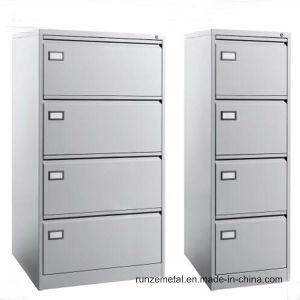 Office Metal Furniture Use Vertical File 4 Drawers Filing Storage Cabinet pictures & photos