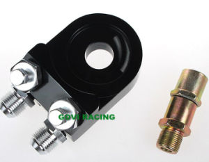 CNC Aluminum Universal Oil Filter Adapter Engine Sandwich Adapters pictures & photos