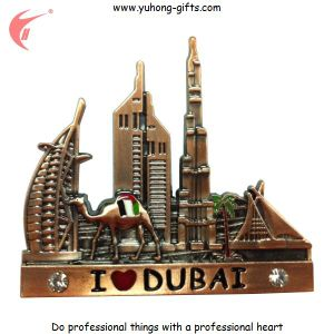 Factory Price Metal 3D Fridge Magnet for Promotion (YH-FM086) pictures & photos