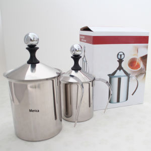 900ml Stainless Steel Milk Frother Pitcher pictures & photos