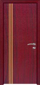 Commercial MDF PVC Door (MDF PVC door) pictures & photos