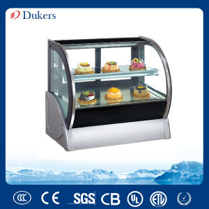 Guangzhou Countertop Cake Pastry Display Coolers for Bakery Shop