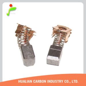Japan Carbon Brush CB-430 Made of Copper Graphite/Wholesale Small Sparking 6.9X7.2X10mm Carbon Brush Fit for 4331d Cordless Jig pictures & photos