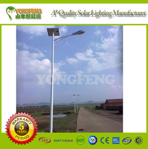 6m 30W Quality Outdoor Solar Street Light