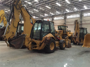 Used Caterpillar 450e Backhoe Loader, Cat Backhoe Loader 450e pictures & photos