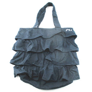 Promotional Ladies Navy Tote Bag pictures & photos