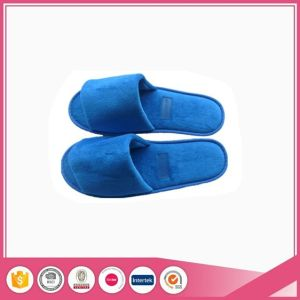 High Quality Velvet Hotel Slippers pictures & photos