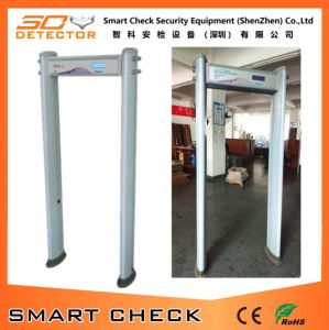 6 Zones Cylindrical Walk Thorugh Metal Detector Body Security Detector pictures & photos