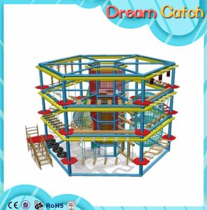 Ce Multiple Luxury Indoor Rope Climbing Play pictures & photos