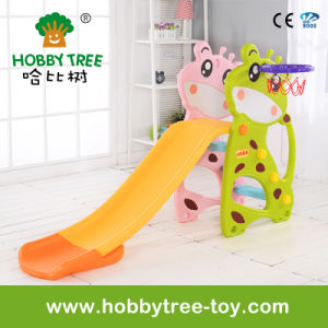 2017 Dear Style Cheap Baby Plasic Indoor Slide and Swing (HBS17005A) pictures & photos