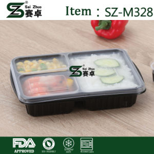 Food Container with Lid (999ml) pictures & photos