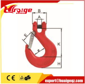 G80 Sf 4: 1 Chain Hook Forged Eye Sling Hook pictures & photos