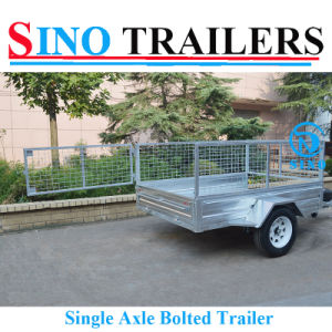 Hot Dipped Galvanized Brand New 6X4 Box Trailer pictures & photos