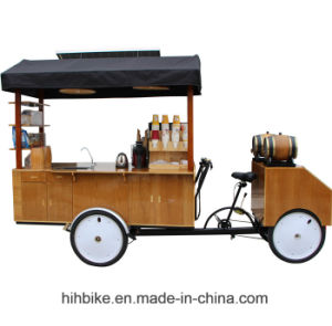 Solar Four Wheel Mobile Food Trucks Coffee Trike for Sale pictures & photos