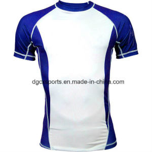 Short Sleeve Spandex Male Rash Shirts pictures & photos