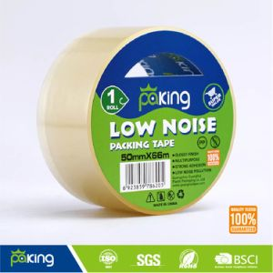 No Noise Pollution Self Adhesive Clear Low Noise BOPP Packaging Tape pictures & photos