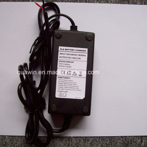 29.4V 24V 2A Slead Lead Acid Battery Charger pictures & photos