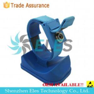 Economic Anti-Static/ESD Adjustable Blue Wrist Strap