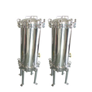 Stainless Steel Three Stages Filter for Industrial Professional Supplier pictures & photos