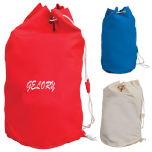 Polyester Nylon Drawstring Bag Backpack (YYDB058) pictures & photos