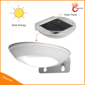 Newest Microwave Radar Motion Sensor LED Solar Light 16LEDs 260lm Waterproof Garden Street Lamp for Outdoor Wall Security Spot Lighting pictures & photos