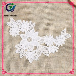 China Desinger White Affordable Chemical Lace Neck Patch pictures & photos