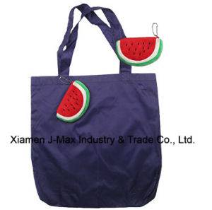 Foldable Shopper Bag, Fruits Watermelon Style, Reusable, Lightweight, Grocery Bags and Handy, Gifts, Promotion, Tote Bags, Accessories & Decoration pictures & photos