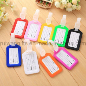 Custom Luggage Tag, Wholesale Cheap Plastic Luggage Tag for Travel pictures & photos