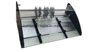 JP-460E Electric multi-function creasing machine, creasing, perforating, slitting pictures & photos