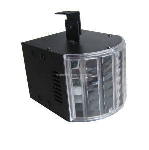 LED Disco Light High Brightness 6 3W Mini LED Butterfly Stage Light with Remote Control pictures & photos