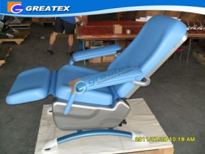OEM Hospital Manual Reclining Phlebotomy Chair Ce ISO Proved (GT-BC204) pictures & photos
