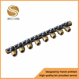Brass Manifold with Burtterfly Handle for Pipe pictures & photos